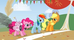 Pinkie's Entered Herself in This Year's Running of the Leaves