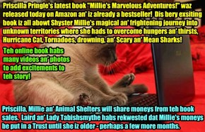 "BOOK WORLD BREAKING NEWS - ""Millie's Marvelous Adventures!"" by Priscilla Pringle smashes book sales records at Amazon and Walmart!"