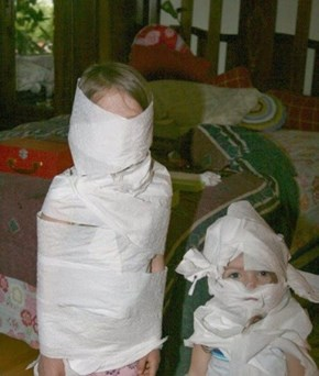 Look Mommy, We're Mummies!
