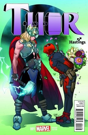 The New Thor Already Has a Fan On This Variant Cover