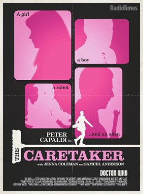 Radio Times' 'The Caretaker' Poster is a Rom-Com Straight Outta 1970