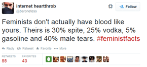 These Are the 100% Totally True Never-Made-Up #FeministFacts