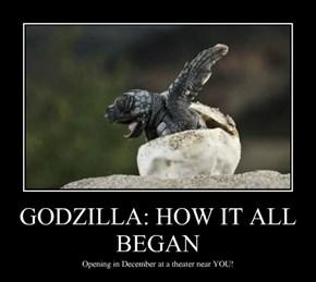 Godzilla Prequel in the Works