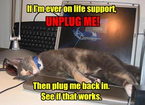 Tech Support Says To Try It