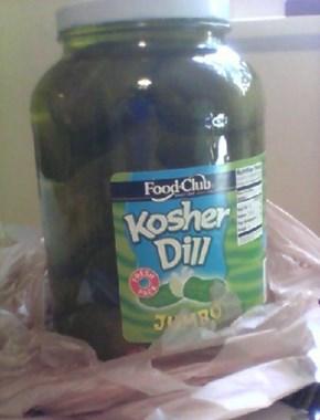 Yo Dawg, I Hear You Like Pickles