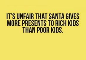 Santa Gives Presents