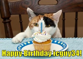 Happy Birthday icguy34!