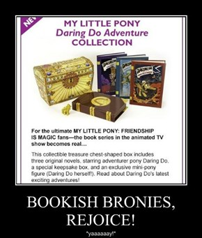 BOOKISH BRONIES, REJOICE!
