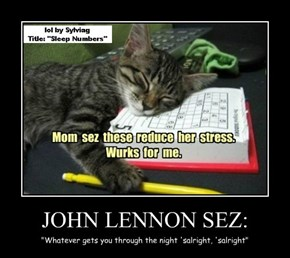 JOHN LENNON SEZ: