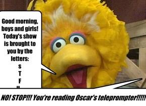 Sesame Street talkin'