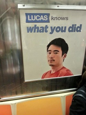 Lucas Better Keep His Mouth Shut