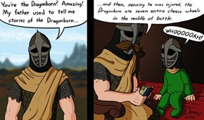 The Legends Say Even Talos Ate Cheese Wheels!