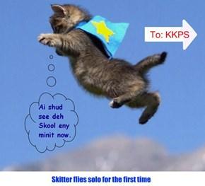 Skitter flies to Skool