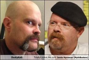 DustyKatt Totally Looks Like Jamie Hyneman (MythBusters)
