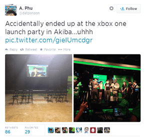 Apparently the Xbox One Launched in Japan Today...
