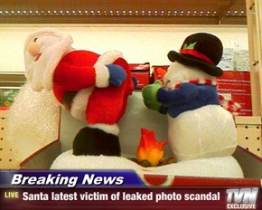 Breaking News - Santa latest victim of leaked photo scandal