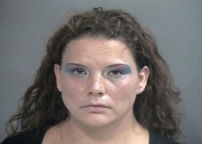 Surprise: This is the Mugshot of Someone Caught Stealing Eye Shadow