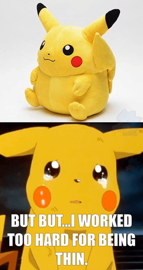 Pikachu's Real Size Really Looks Like He Did in the 90s