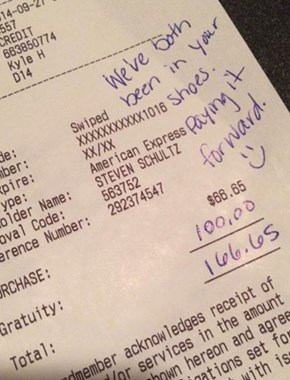 The Service Was Terrible, so Why Did This Couple Leave a Huge Tip?