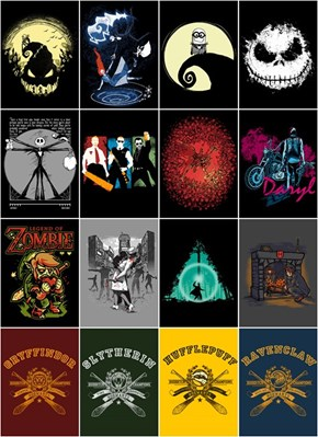 Zombies, Hogwarts, and the Pumpkin King have never looked so good.