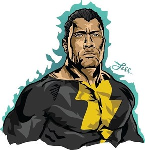 What The Rock Might Look Like as Black Adam