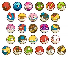What if Voltorb Looked Like Other Types of Pokéballs?
