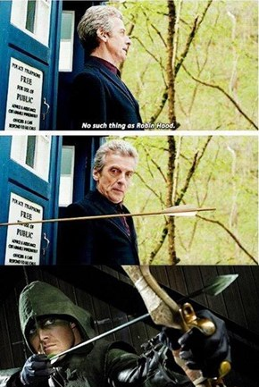 The Doctor Heads To Star City