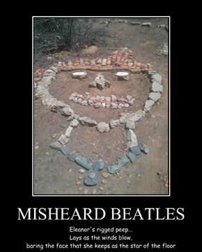 MISHEARD BEATLES