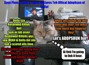 Adopshun Notice Fur Bella!