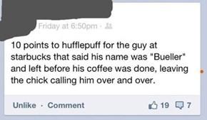 """""""... Bueller?"""""""