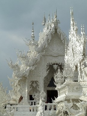 Marvel in the Detail of Thailand's White Temple