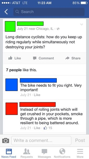 There Are Two Kinds of Bikers...