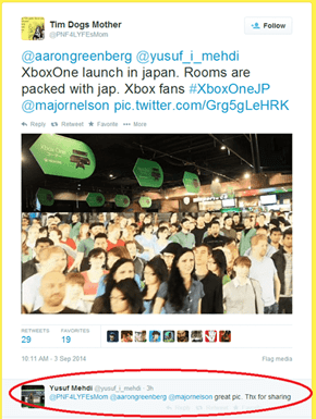 Aaand Yusuf Mehdi From Microsoft Fails to See What's Wrong With This Crowd