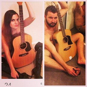 This Australian Guy Recreates Women's Tinder Profile Pics With Hilarious Results