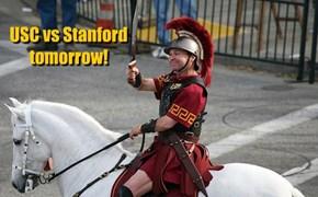USC vs Stanford tomorrow!
