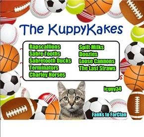 Kuppykakes Team Name Suggestions