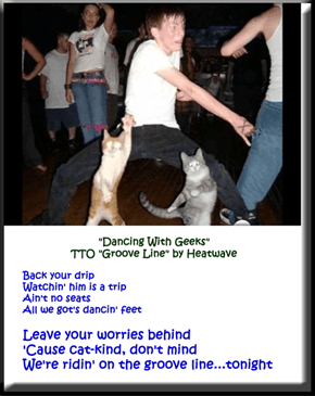 """""""Dancing With Geeks"""" (TTO """"Groove Line"""" by Heatwave)"""