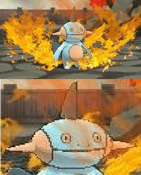 Marshtomp Feels the Burn