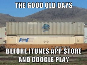 THE GOOD OLD DAYS  BEFORE ITUNES APP STORE AND GOOGLE PLAY