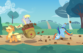 Muffins Are The Banana Peels of Equestria
