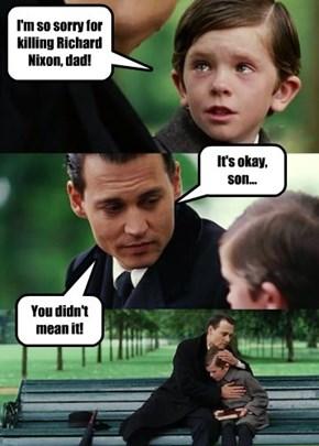 Accidcents happen, kid!