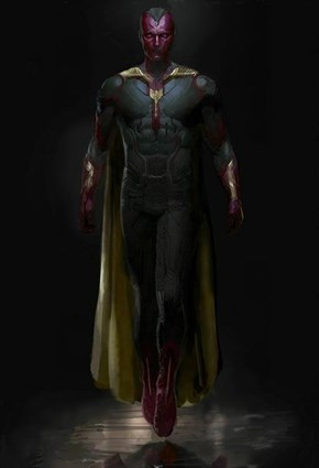 Another Possible Avengers Leak of The Vision