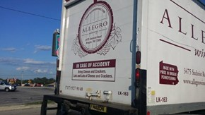 A Wine Truck With a Sense of Humor