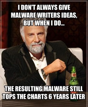 Oh Conficker, Why Can't We Quit You?