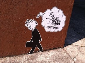 Calvin, Hobbes, and the Streets of Portland