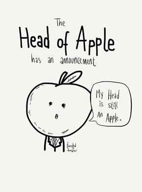 A Special Announcement From The Head of Apple
