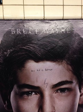 Subway Graffiti Completely Spoils FOX's Gotham