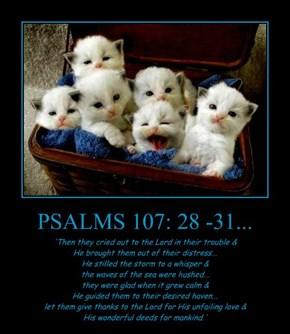 PSALMS 107: 28 -31...