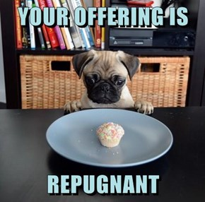 YOUR OFFERING IS  REPUGNANT