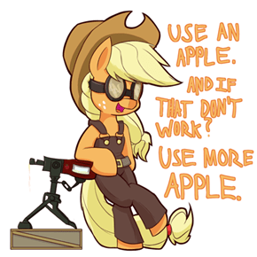 Use more apple